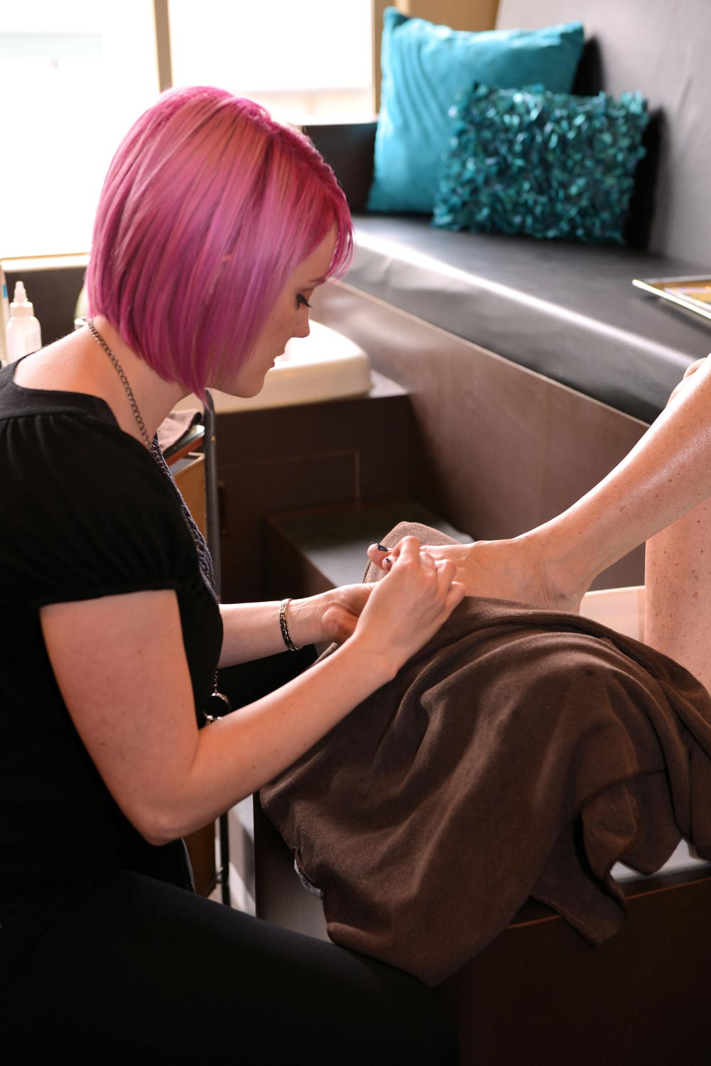 Pedicures are relaxing, while also keeping your feet smooth and prepped for any occasion.