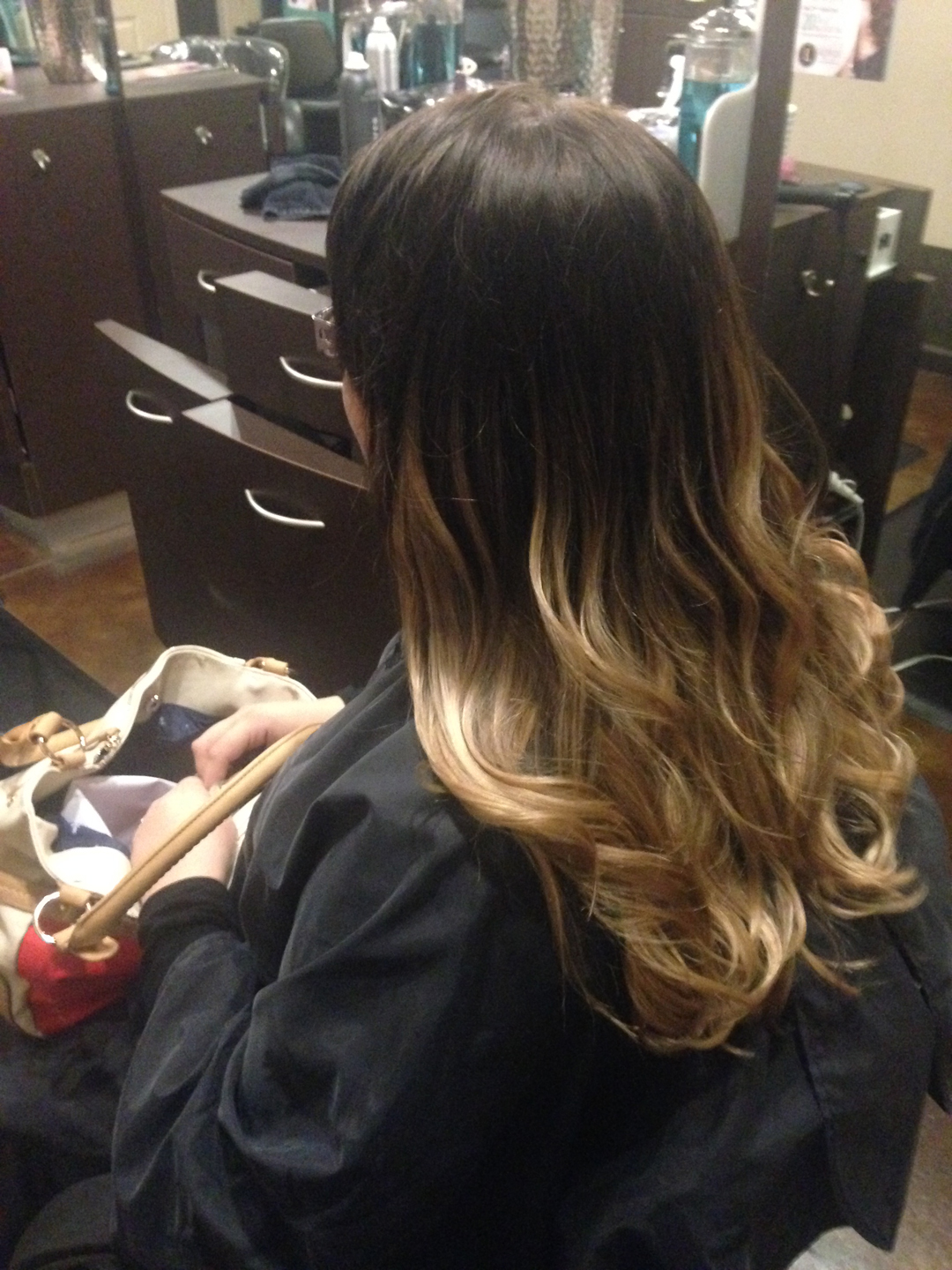 Soft and beautiful ombre, the perfect finish to your look.
