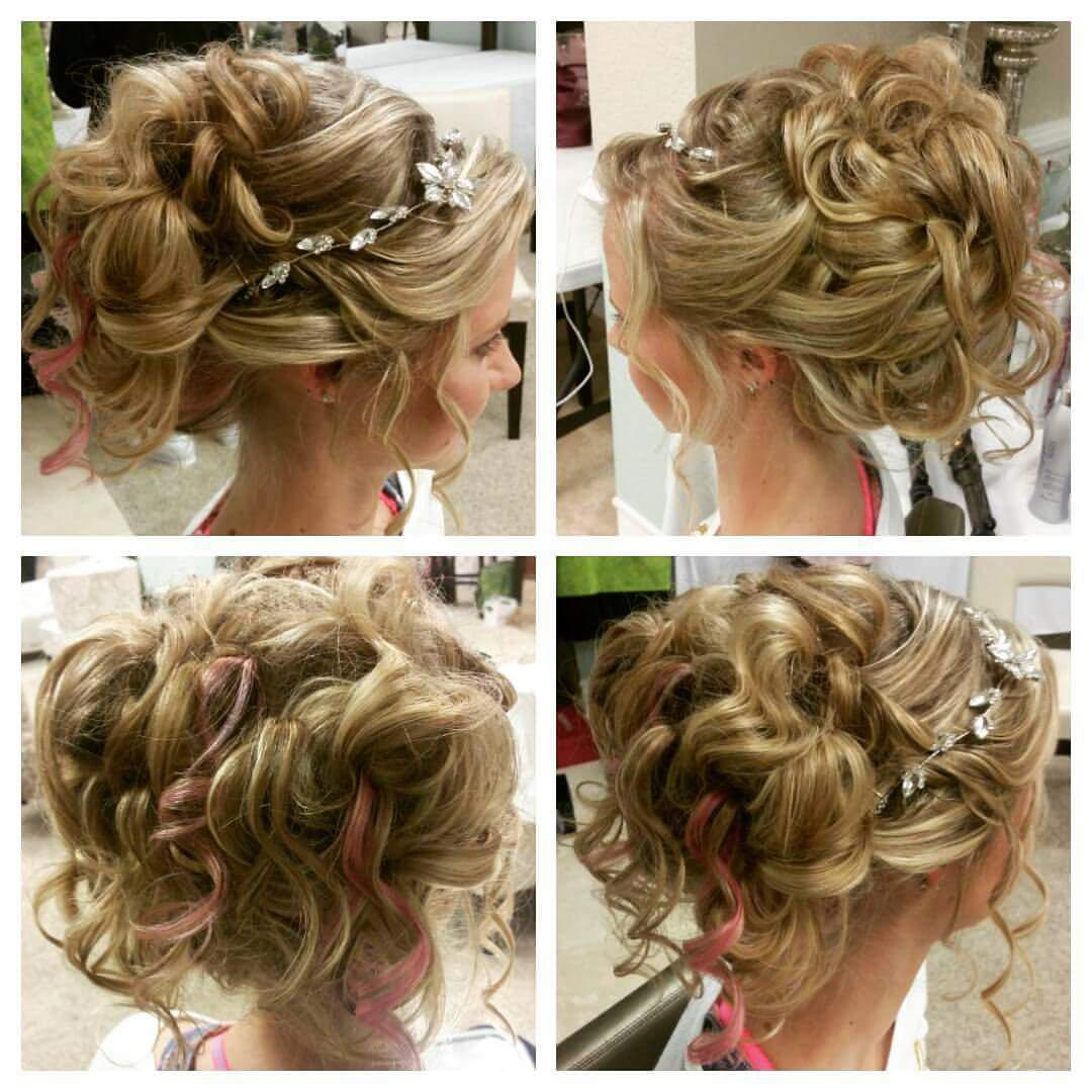 A gorgeous updo for a beautiful bride.