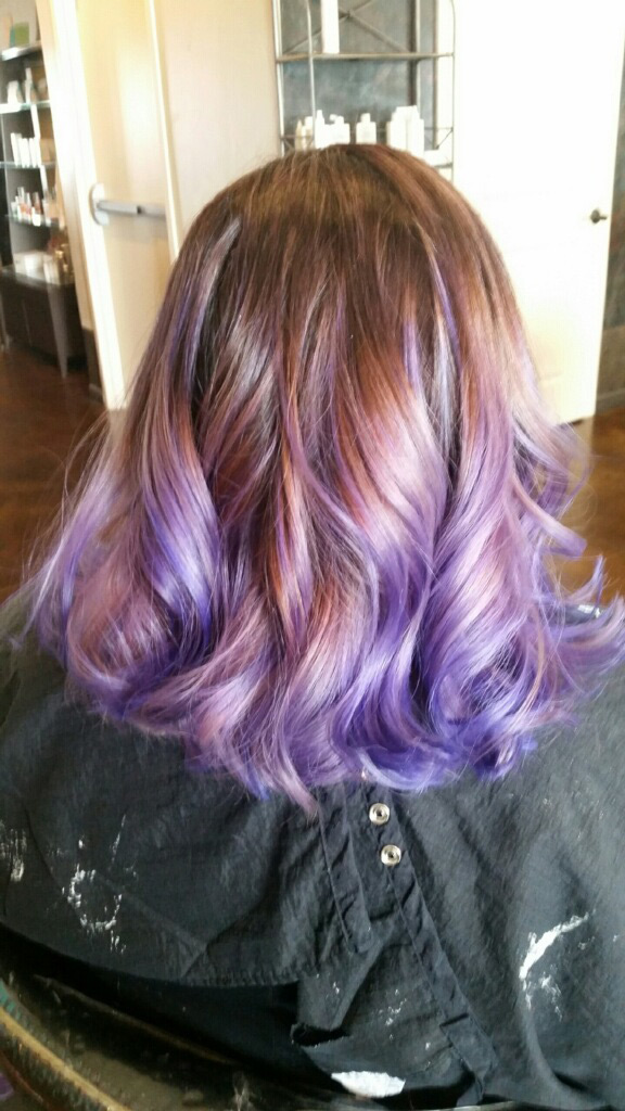 For a fresh spring look, a change of hair color is always a fun way to go. Hair by Zoe.