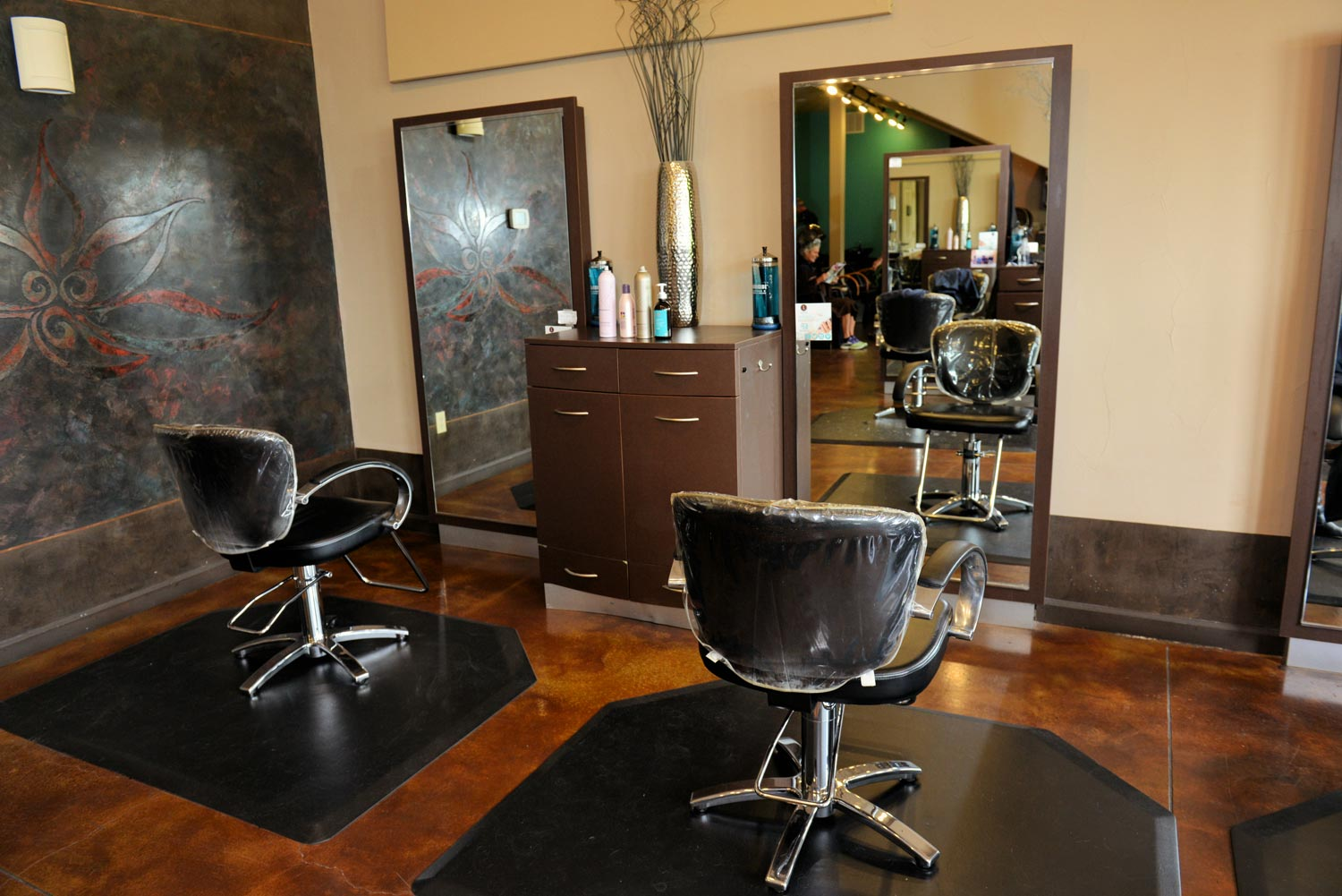Lotus offers hair style services and complete salon and spa services including facials, massage, body treatments and much more.
