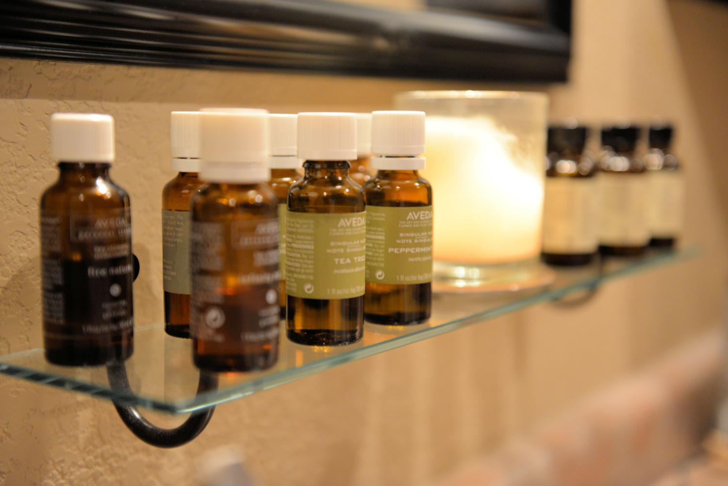 "With an invigorating aroma, Aveda ""Active Composition"" soothes sore muscles."